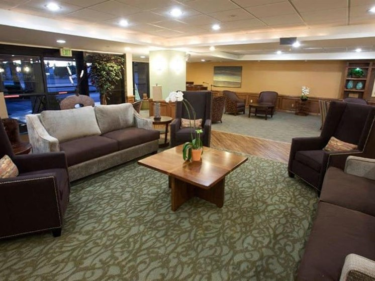 Posh Resident Lounge at Westmont Town Court, Escondido
