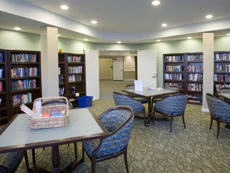 Reading Room With Ample Of Sitting Area at Westmont Town Court, Escondido, CA