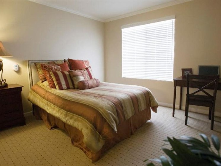 Beautiful Bright Bedroom With Wide Windows at Westmont Town Court, Escondido