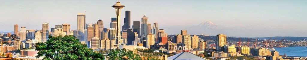 Seattle, Washington City Skyline