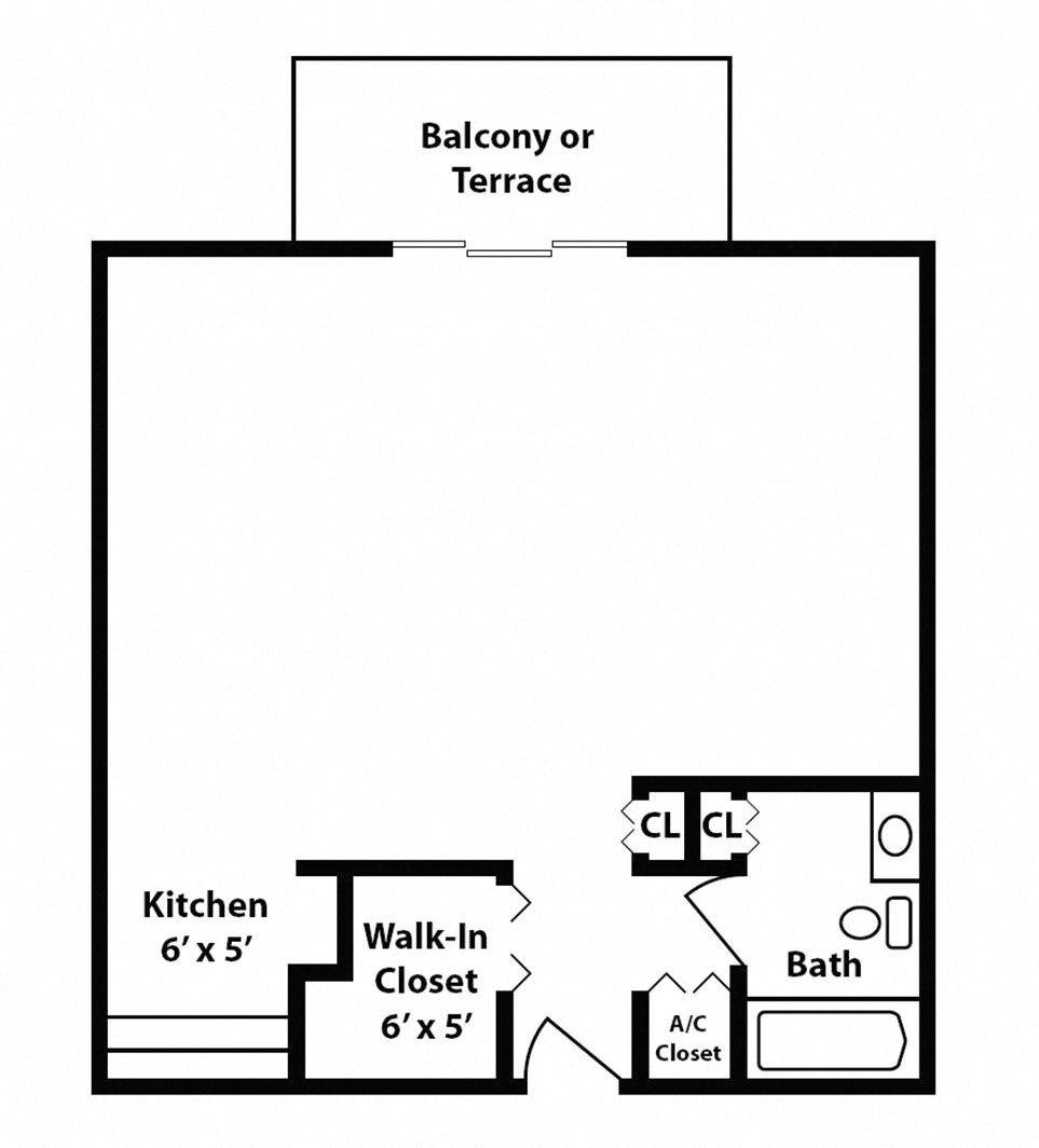 New Classic - Studio - Chatillon Floor Plan 11