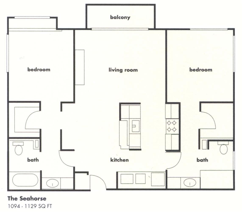 The Seahorse Floor Plan 2