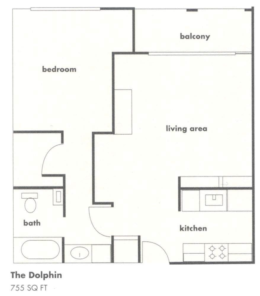 The Dolphin Floor Plan 1