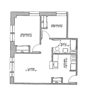 2 Bedroom Small