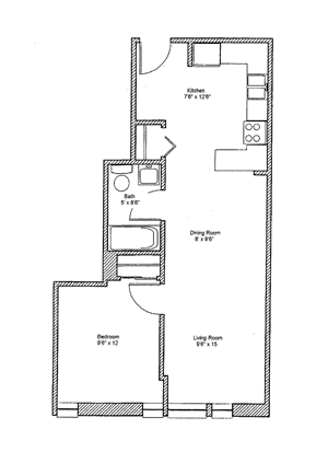 1 Bedroom Large - Economy