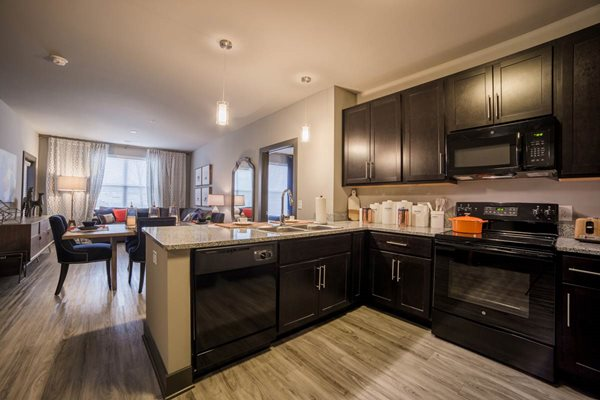 The Flats at Austin Landing Apartments in Miamisburg, OH - Open Concept