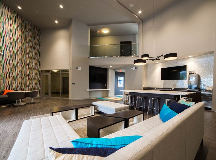 The Flats at Austin Landing Apartments in Miamisburg, OH - Clubhouse