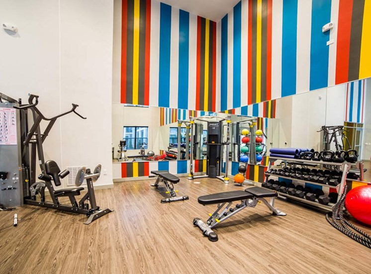 The Flats at Austin Landing Apartments in Miamisburg, OH - Fitness Center