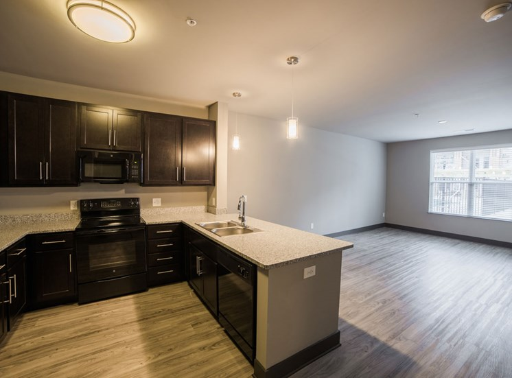 The Flats at Austin Landing Apartments in Miamisburg, OH - Open Concept Apartments in Dayton