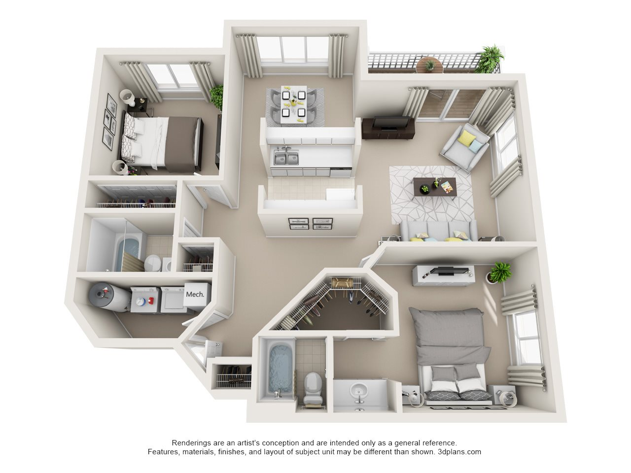 2A Floor Plan 1