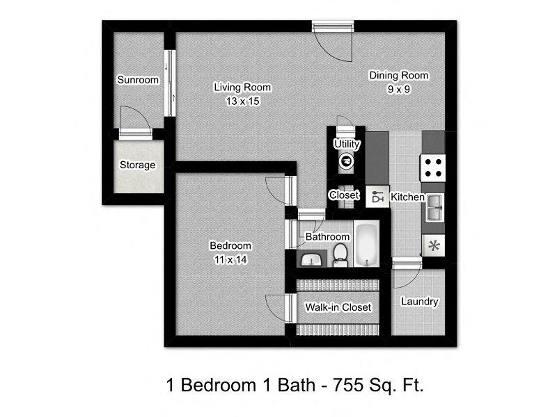 Dandelion Floor Plan 1