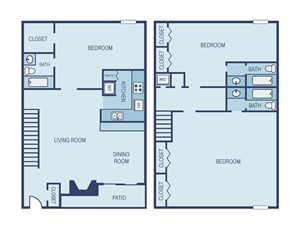 Three Bedroom C3 Townhome