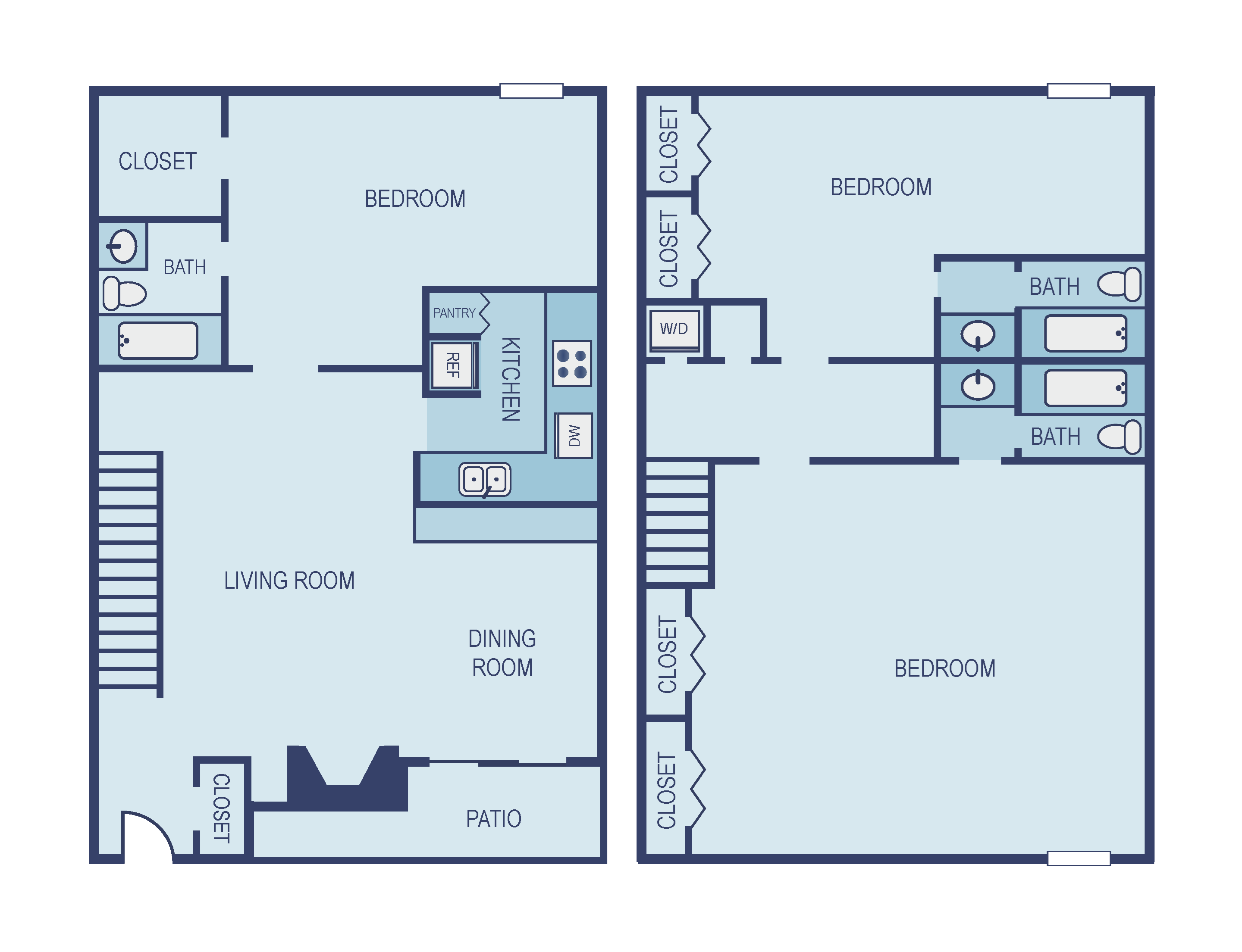 Three Bedroom C3 Townhome Floor Plan 15