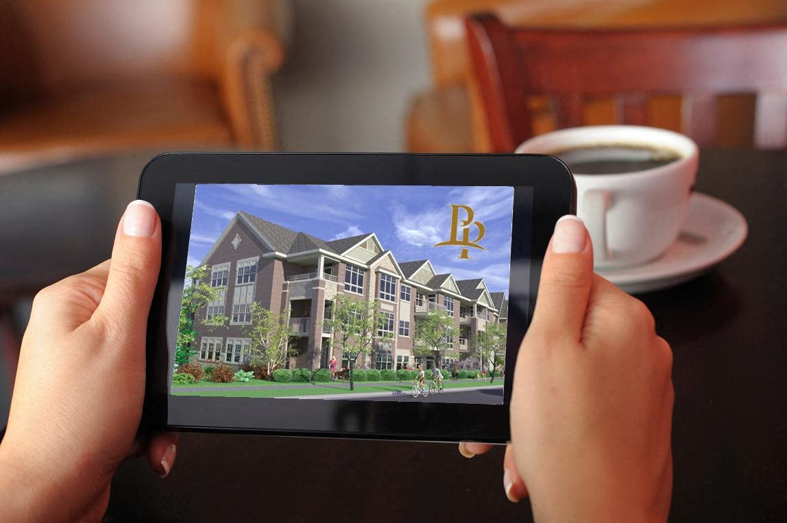 Free Wifi in Common Areas at Paragon Place at Bishops Bay, Middleton, Wisconsin, 53597