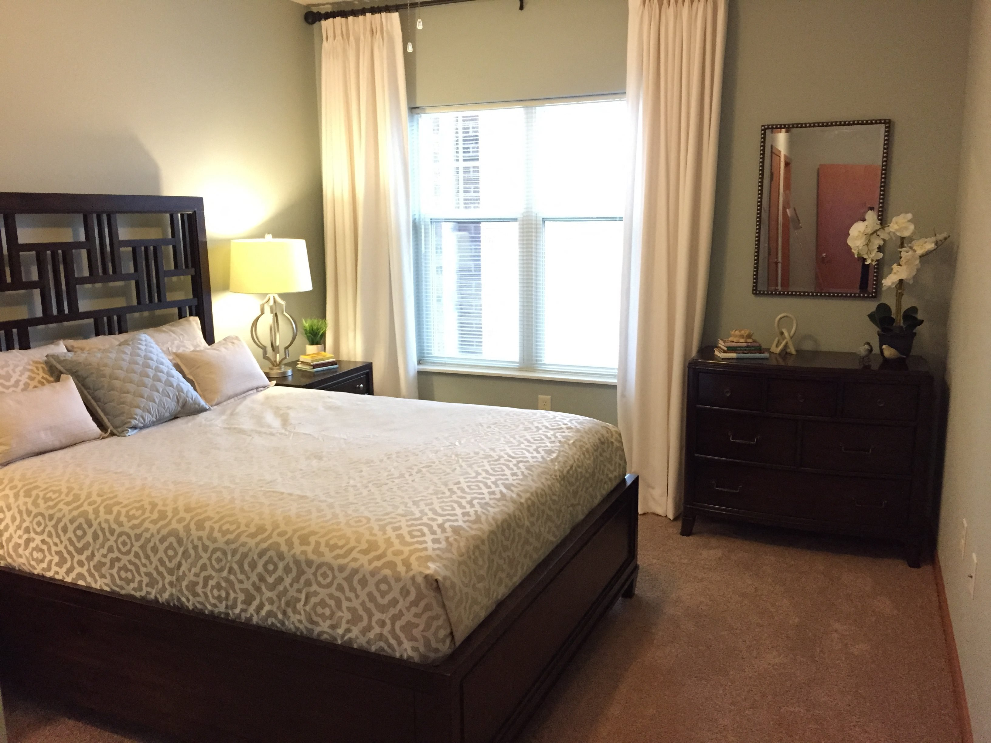 Live in cozy bedrooms at Paragon Place at Bishops Bay, 5240 Bishops Bay Parkway, Middleton, Wisconsin, 53597