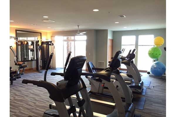 24-hour Fitness Center at Paragon Place at Bishops Bay, 5240 Bishops Bay Parkway, Middleton, Wisconsin, 53597