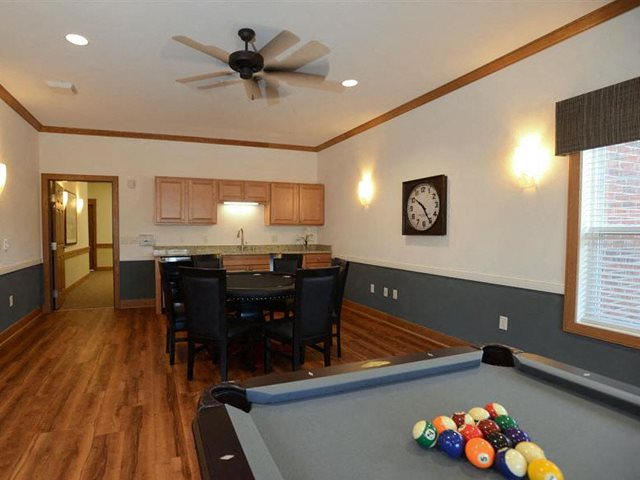 Billiards Table Highlands at Riverwalk Apartments 55+, Mequon, 53092