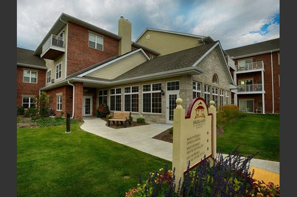 Access Controlled Community at Highlands at Riverwalk Apartments 55+, 10954 N Cedarburg Road, Mequon, Wisconsin