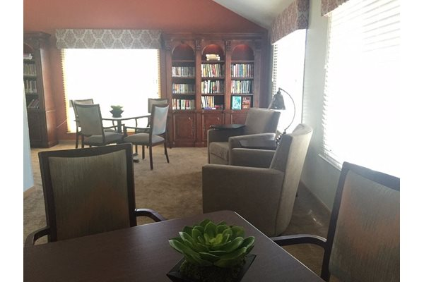 Community Room at Nicolet Highlands Apartments 55+, DePere