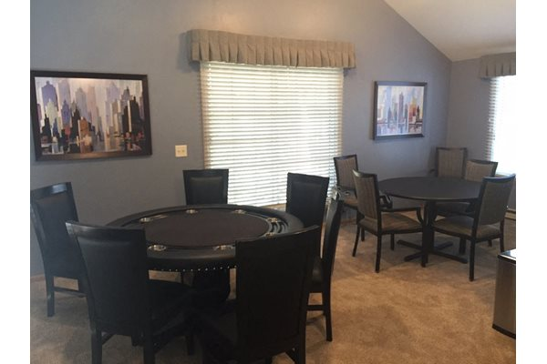 Game Room at Nicolet Highlands Apartments 55+, DePere