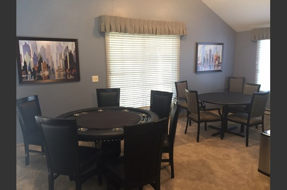 Game Room With Lots of Board games at Nicolet Highlands Apartments 55+, DePere, WI,54115