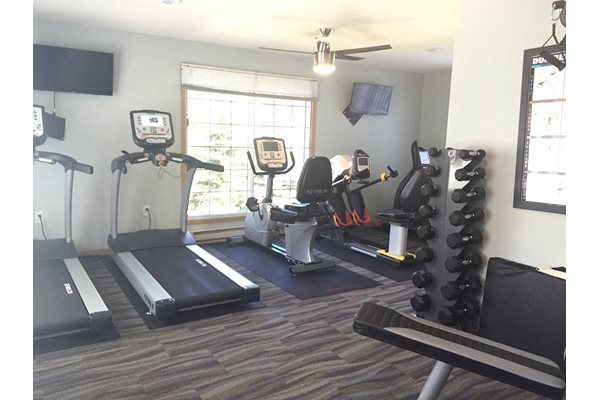 Fitness Center at Nicolet Highlands Apartments 55+, DePere