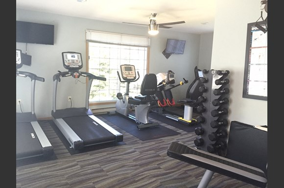Cardio Equipment at Nicolet Highlands Apartments 55+, DePere, WI,54115
