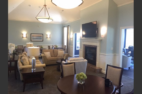 Newly Renovated Clubhouse at Nicolet Highlands Apartments 55+, 430 Grant Street, Depere, WI