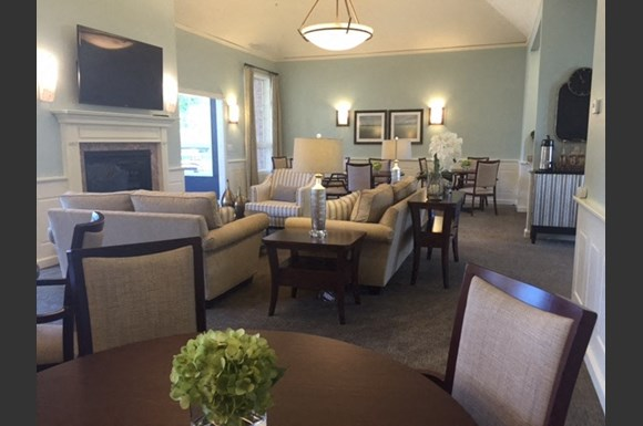 Newly Renovated Clubhouse at Nicolet Highlands Apartments 55+, 430 Grant Street, Depere, WI 54115