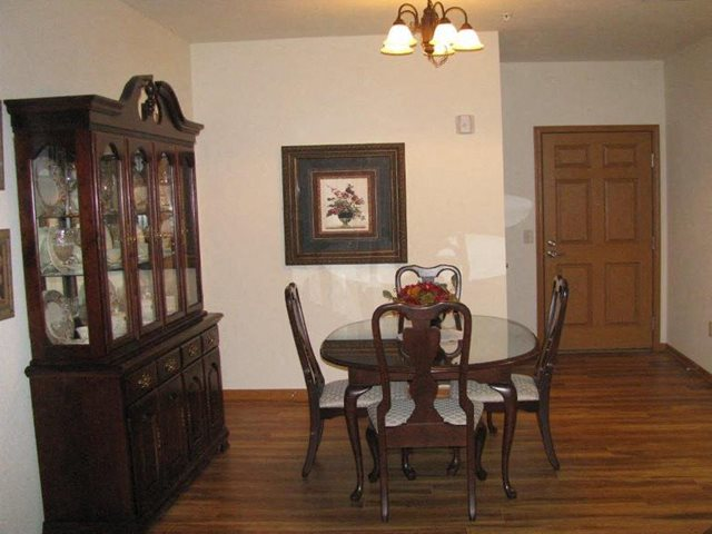 Separate Dining Area at Highlands at River Crossing Apartments , Wisconsin