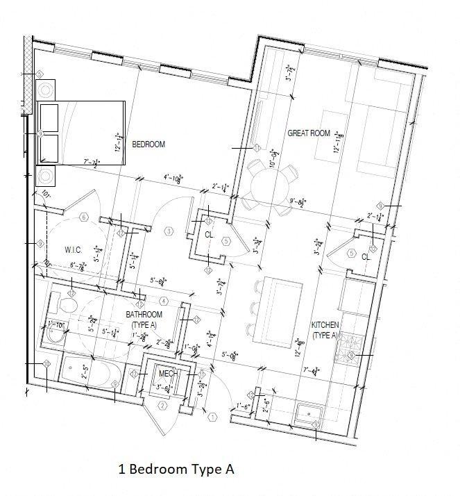 Type A Floor Plan 1