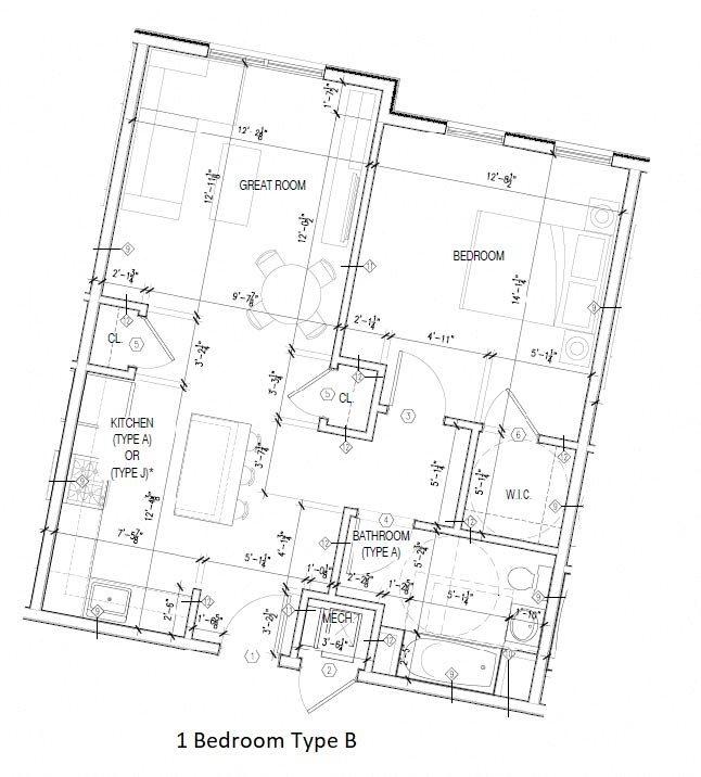 Type B Floor Plan 2