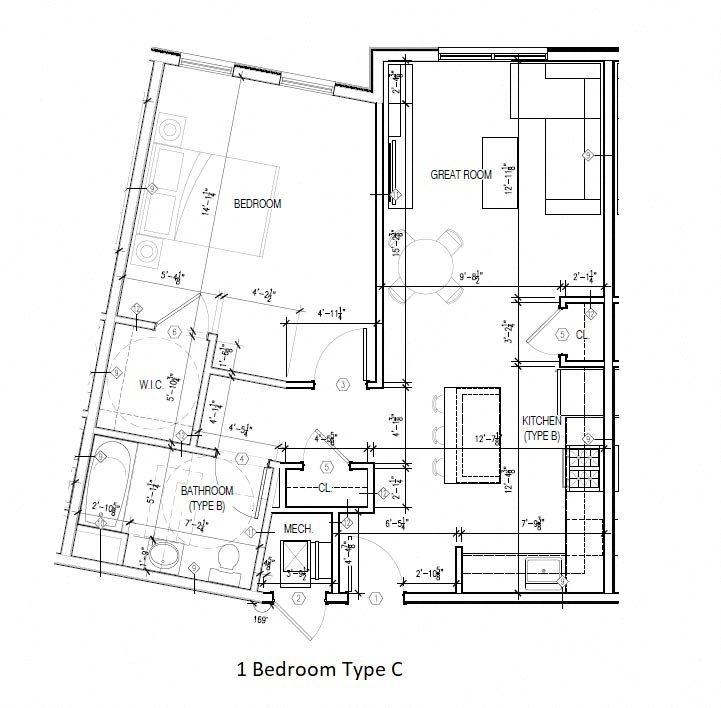 Type C Floor Plan 3