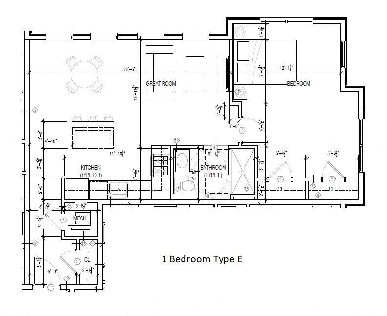 Type E Floor Plan 5