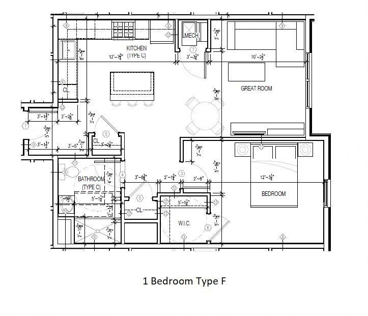 Type F Floor Plan 6