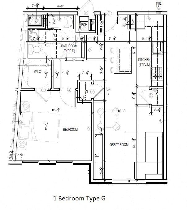 Type G Floor Plan 7