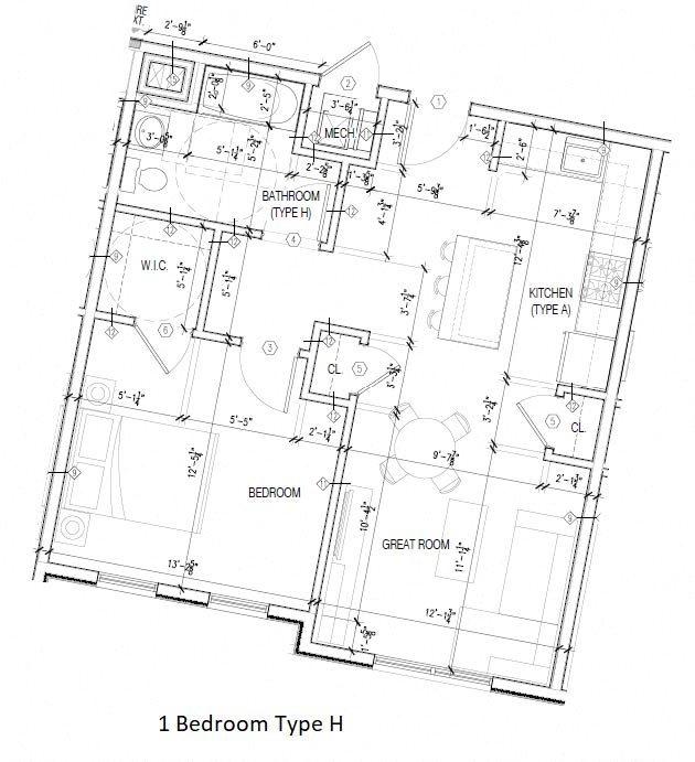 Type H Floor Plan 8