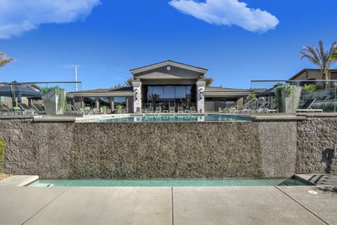 Poolside Splash Pad