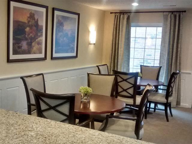 Community Room Sitting Area at Brookfield Highlands Apartments 55+, Waukesha, WI,53186