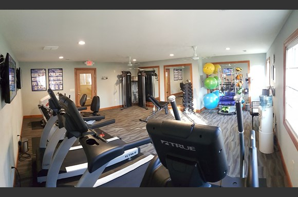 State-of-the-Art Fitness Center at Brookfield Highlands Apartments 55+, 20825 George Hunt Circle, Waukesha, WI