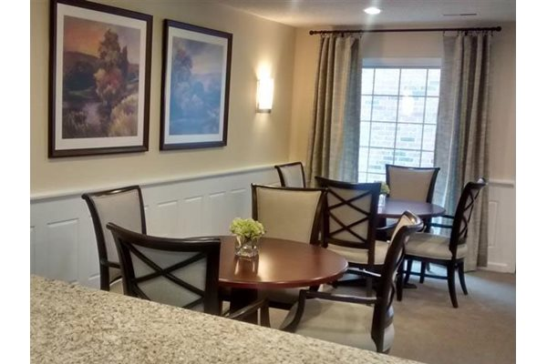 Community Room at Brookfield Highlands Apartments 55+, Waukesha