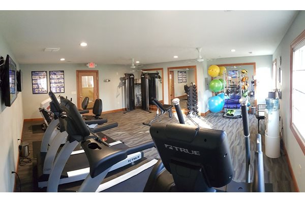 Fitness Center at Brookfield Highlands Apartments 55+, Waukesha