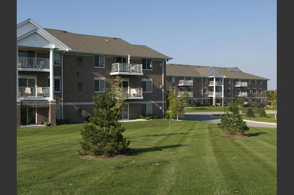 Beautiful Landscaping and Park-like Setting at Foresthill Highlands Apartments & Townhomes 55+, Franklin, WI,53132