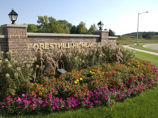 Access Controlled Community at Foresthill Highlands Apartments & Townhomes 55+, Franklin, WI,53132