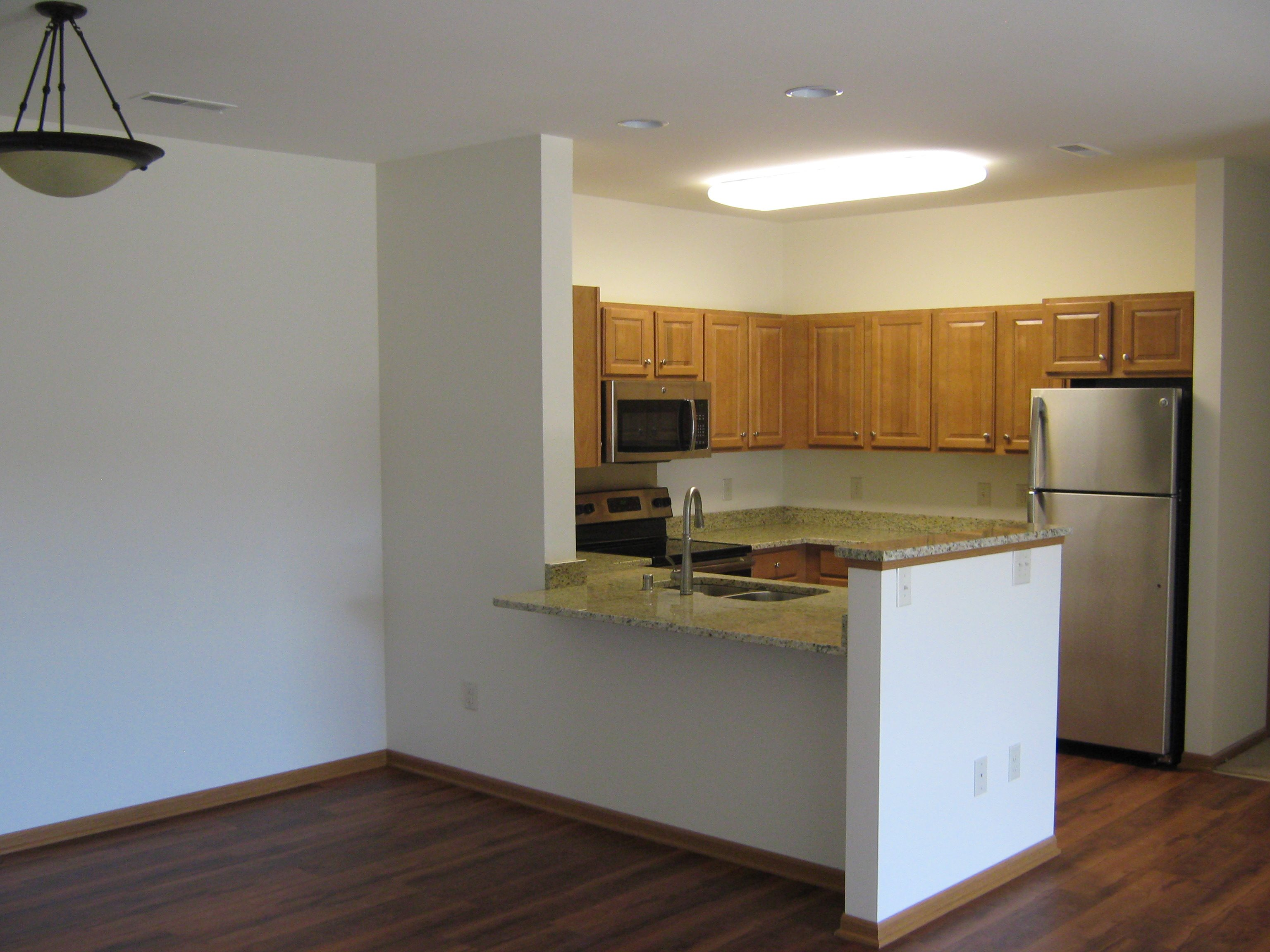 Gourmet Kitchens with Dishwasher and Disposal at Foresthill Highlands Apartments & Townhomes 55+, Franklin, WI,53132