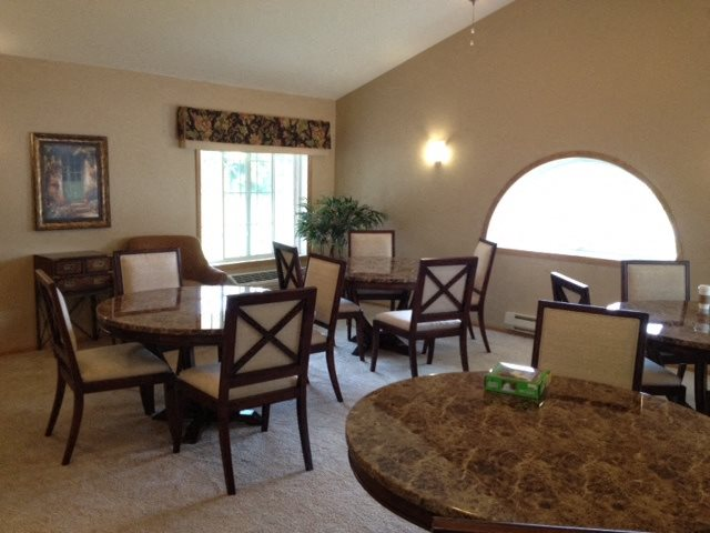 Multi-Purpose Room With Furnished Interiors at Foresthill Highlands Apartments & Townhomes 55+, Franklin, WI,53132