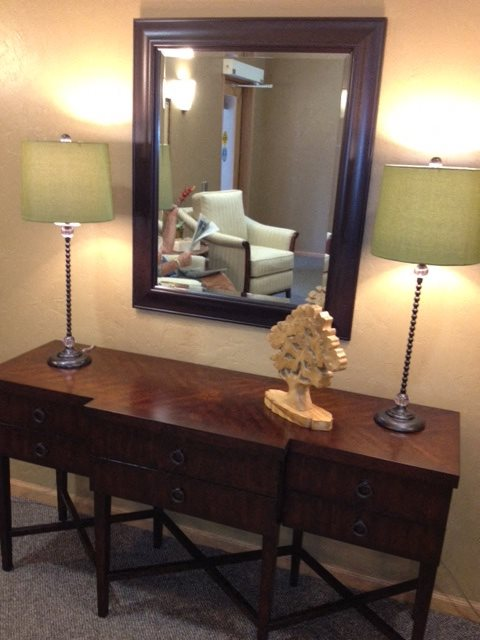Furnished Apartments With Modern Furniture and Lighting at Foresthill Highlands Apartments & Townhomes 55+, Franklin, WI,53132