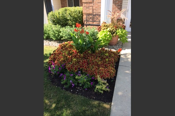 Courtyard Garden at Foresthill Highlands Apartments & Townhomes 55+, Franklin, WI,53132