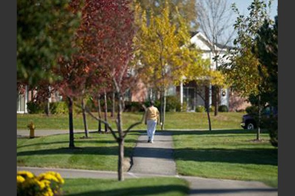 Beautifully-Landscaped Grounds near Ridgeview Highlands Apartments & Townhomes,Appleton,WI,54911