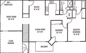 FloorPlans at Ridgeview Highlands Apartments & Townhomes,640 Ridgeview Circle,WI,54911